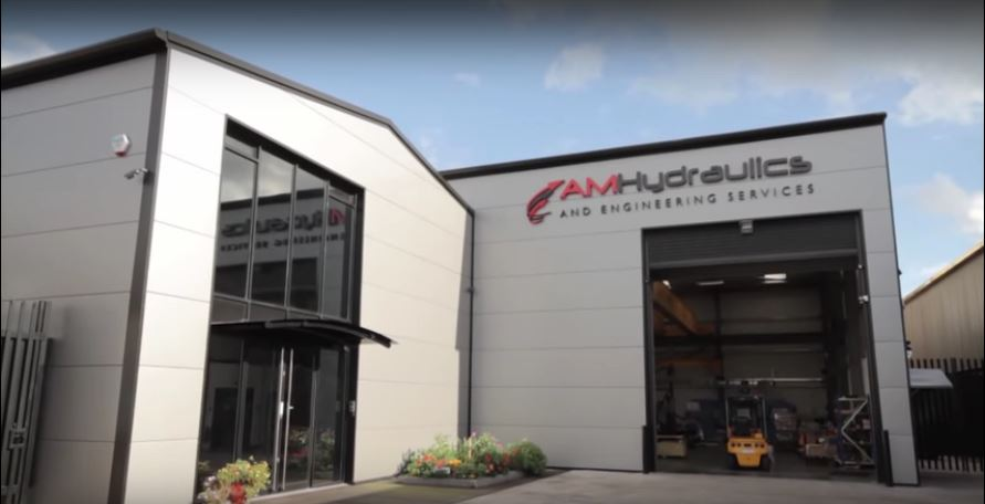 Watch AM Hydraulics Video - Advanced turning, milling & grinding Machinery and facilities